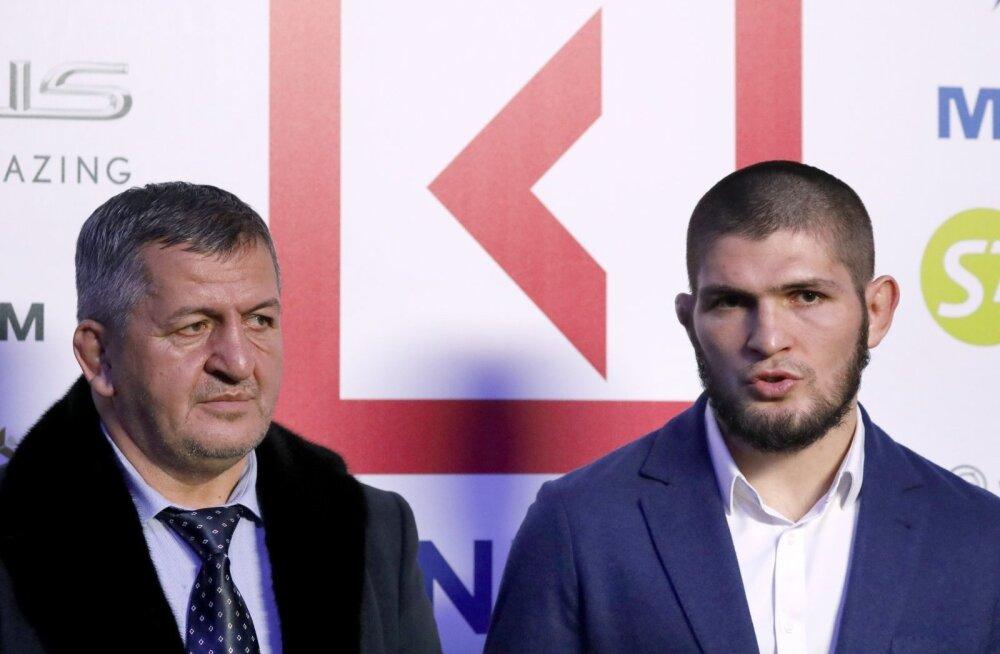 Abdulmanap ja Khabib Nurmagomedov