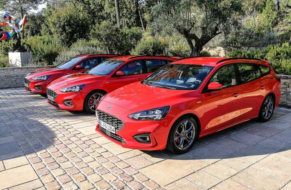 Proovisõit: Ford Focus Neljas: lõpuks ometi auto, mille puhul saame alustada roolist