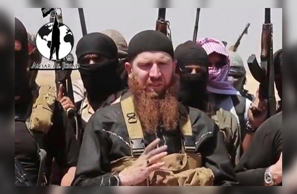 Islamiriigi tšetšeenist välikomandör lubas Venemaale kätte maksta