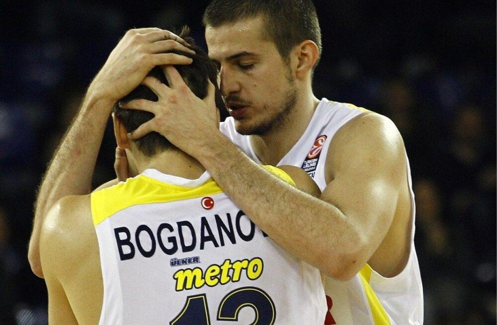 Nemanja Bjelica ja Bogdan Bogdanovic