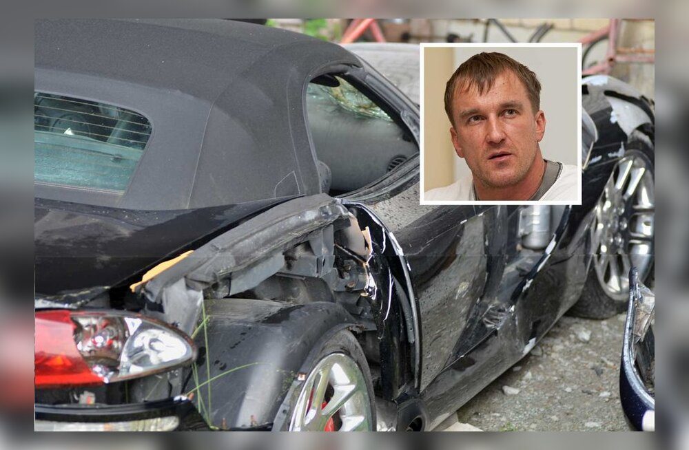 Культурист, разбивший дорогой спорткар ради миллионной страховки, предстал перед судом