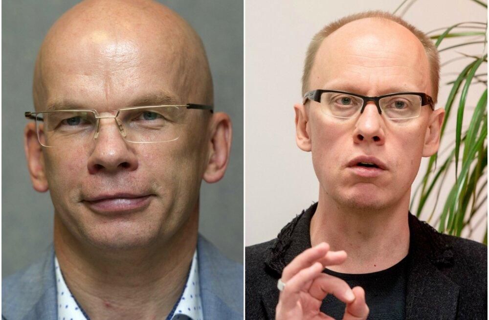Allar Jõks (vasakul) ja Ahto Lobjakas.