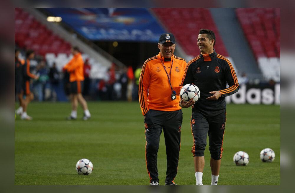 Ancelotti ja Ronaldo