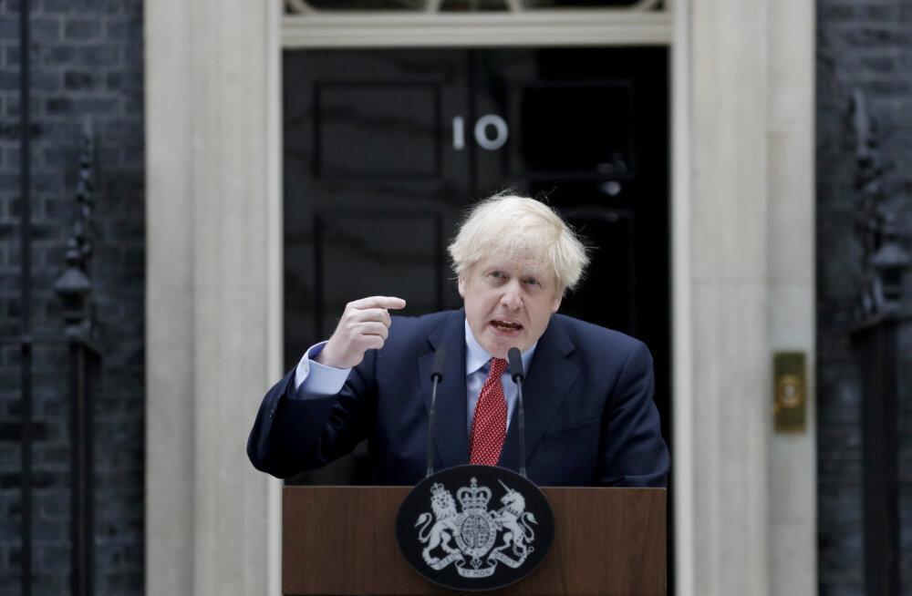 Covid 19-st paranenud Suurbritannia peaminister Boris Johnson: praegu on maksimaalse riski hetk