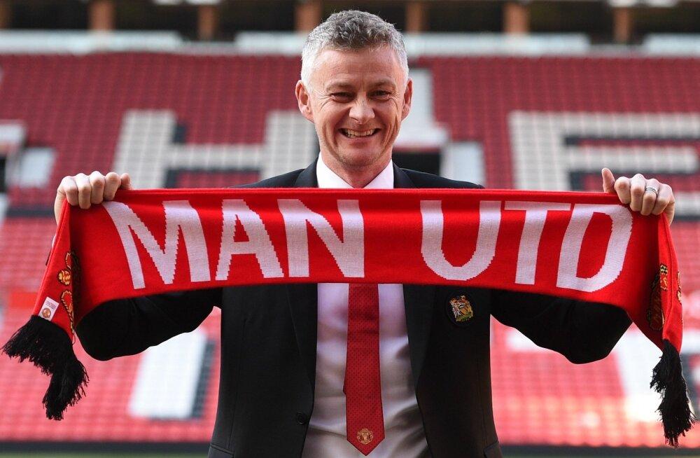 Püsivalt Manchester Unitedi peatreeneriks kinnitatud Ole Gunnar Solskjaer.