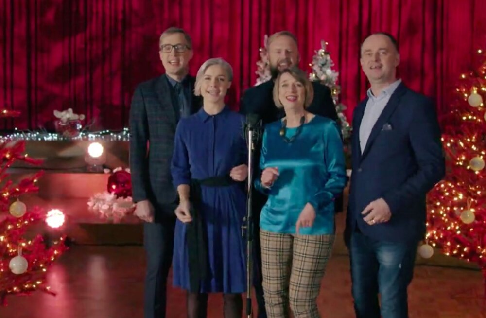 """""""Aisakell"""" sai uue kuue: vaata ETV saatejuhtide jõuluüllatust!"""