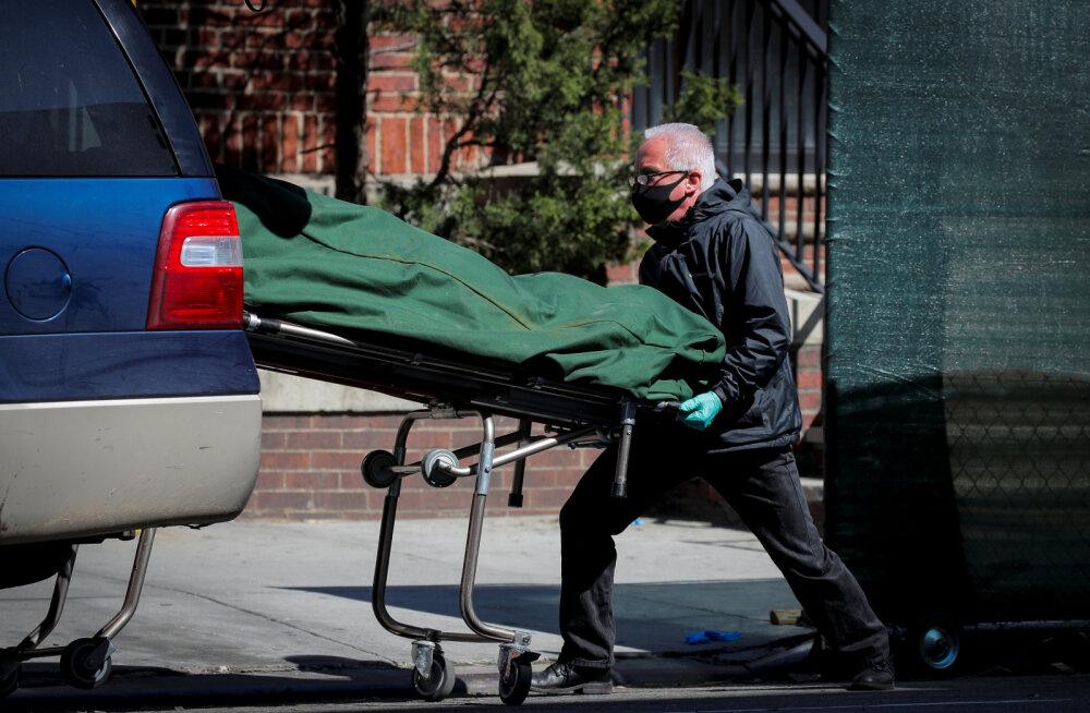 USA-s ületas koroonaviirusega nakatunute arv miljoni piiri ja surnuid on rohkem kui Vietnami sõjas