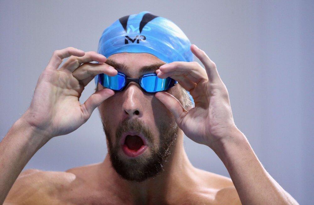 Michael Phelps alustas olümpia-aastat lemmikdistantsi võiduga