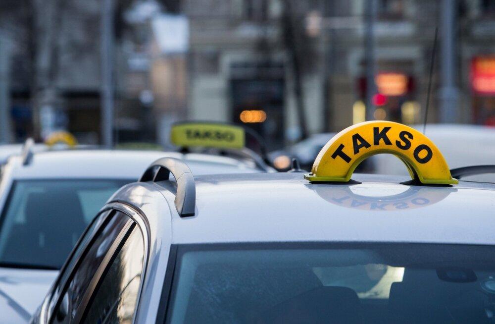 Секс на улице такси