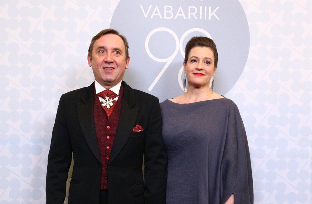 Elmo Nüganen ja Anne Reemann