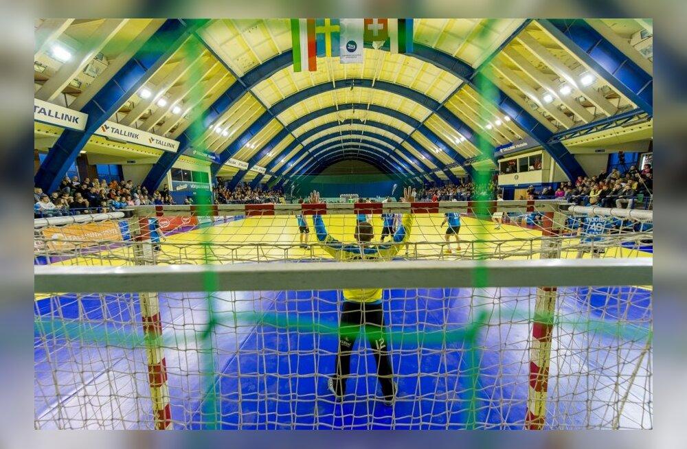 Eesti - Šveits käsipalli EM play-off mäng