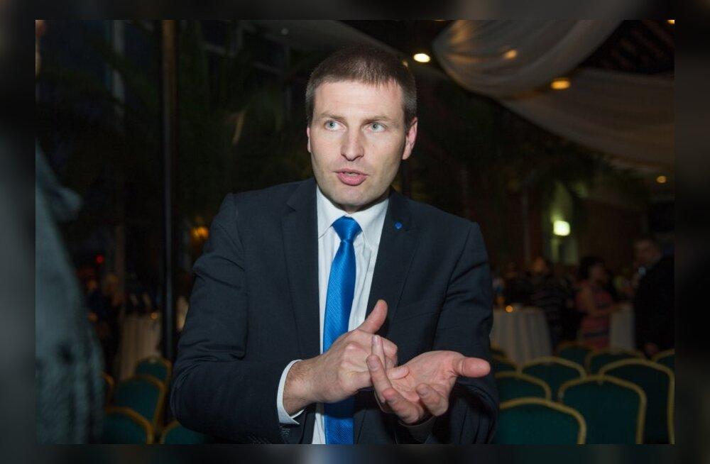 Taavi Rõivas ja Hanno Pevkur