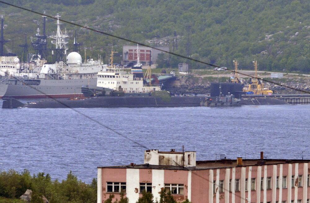 RBK: põlengu põhjus Vene tuumaallveelaeval Lošarik võis olla ka diversioon