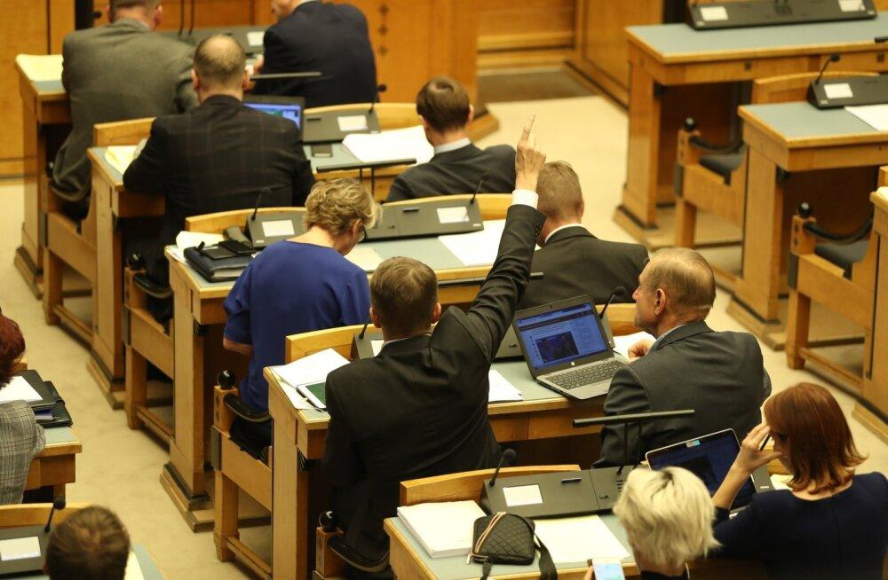 Riigikogu liikmed: algatus Eesti 200 Mälupank vajab kaitset erakonna Eesti 200 eest