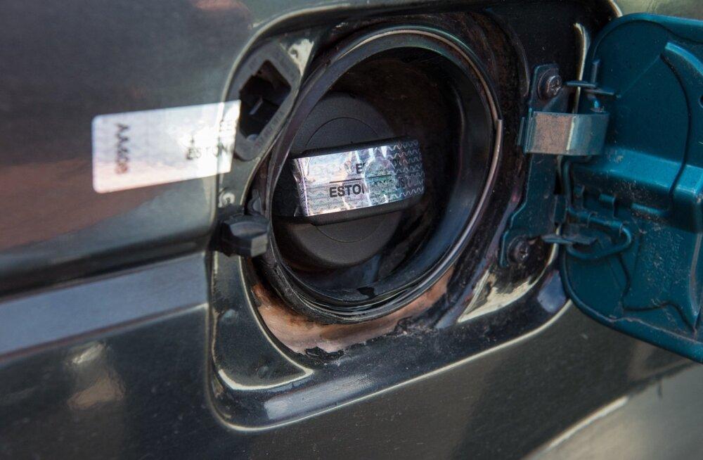 Kütust varastatakse peamiselt suurtest masinatest