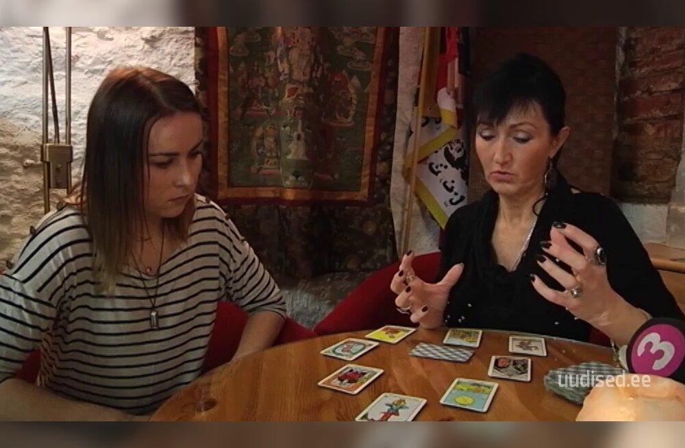 TV3 VIDEO: Mida ütlevad kaardid Grete Kleini ja Kristel Aaslaiu suhteseisu kohta?