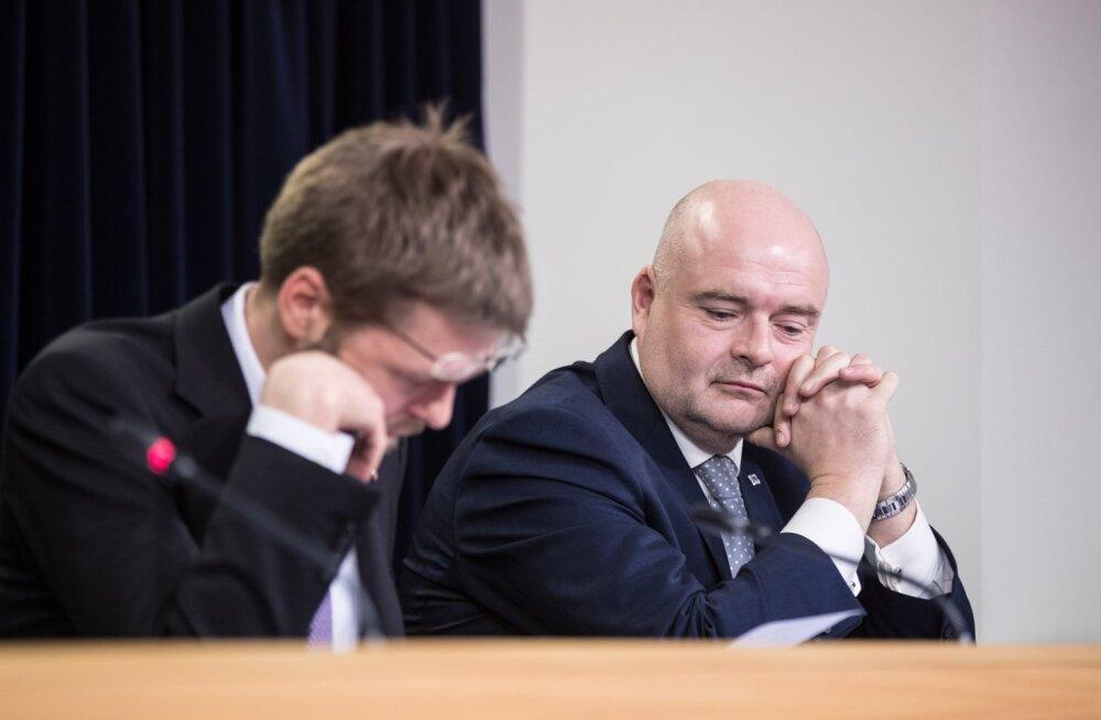Jevgeni Ossinovski ja Andres Anvelt