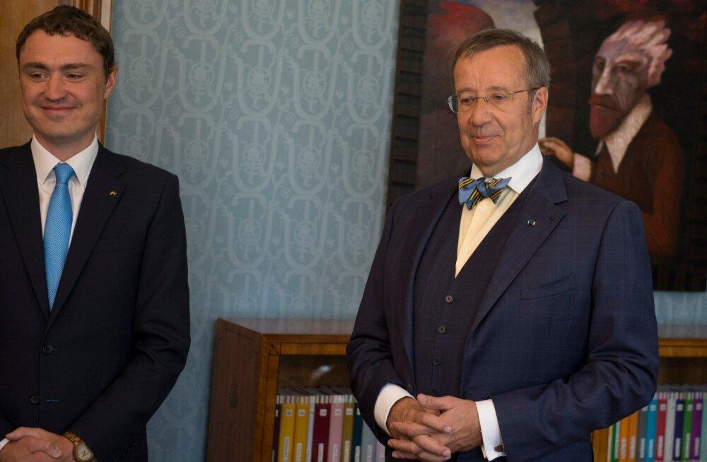 Marina Kaljurand presidendi juures