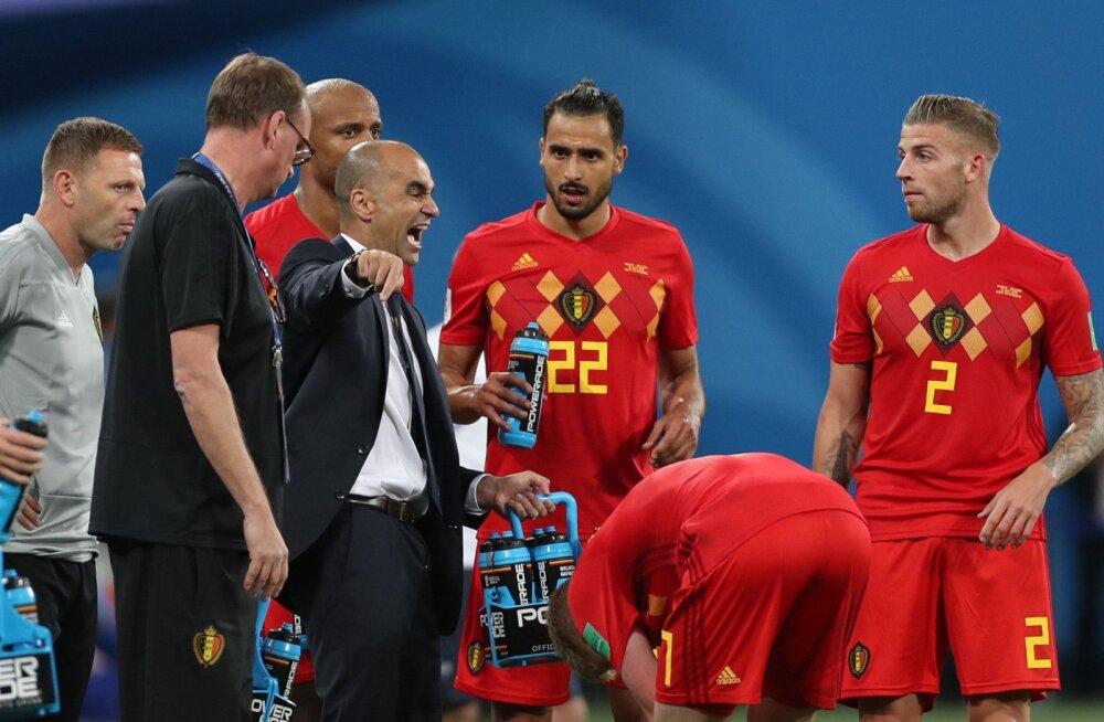 Belgia peatreeneri mõtted on juba 2020. aasta jalgpalli EM-il