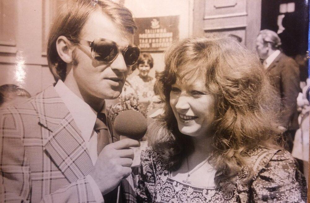 Oli aasta 1977, mil Alla Pugatšova esimest korda Eestis käis. Diivat küsitleb Tallinnas telereporter Heimar Lenk.