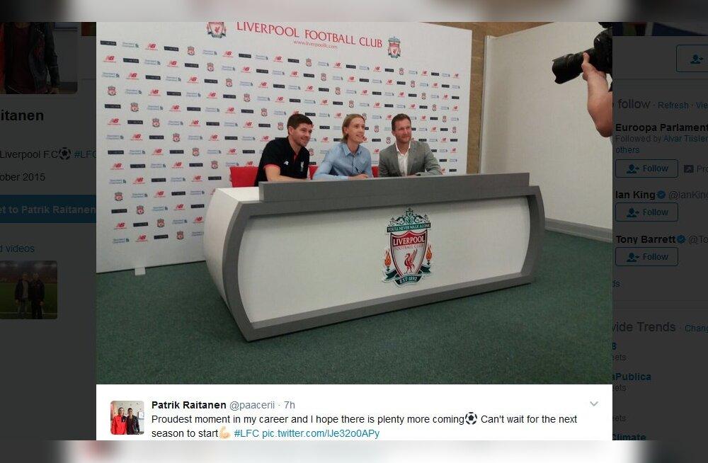 Järgmine Sami Hyypiä? Noor Soome keskkaitsja liitus Liverpooliga