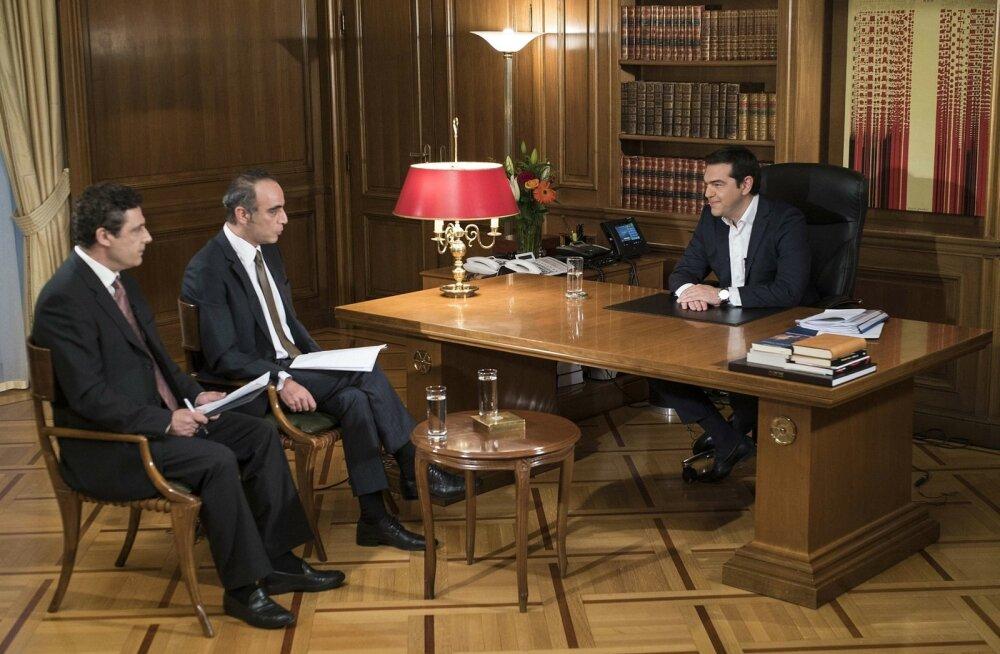 Tsipras peab sõlmitud kokkulepet halvaks, kuid kutsub parlamenti seda siiski toetama