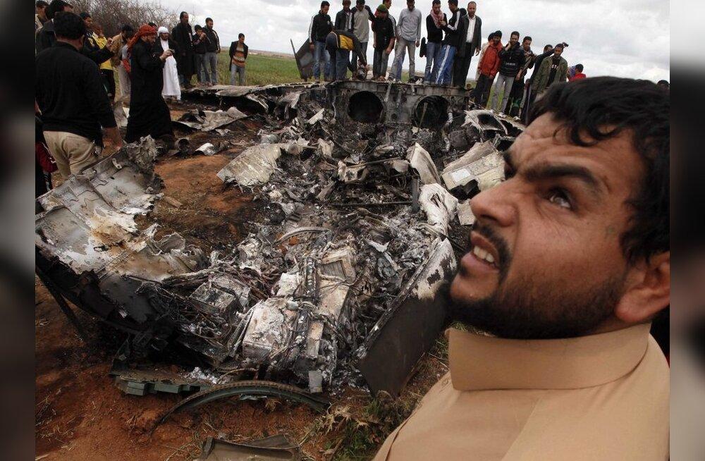 Liibüas kukkus alla USA hävituslennuk