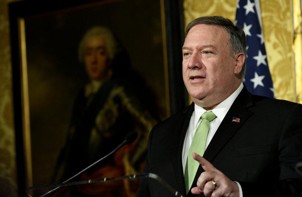 Pompeo: USA ei taha Iraaniga sõda