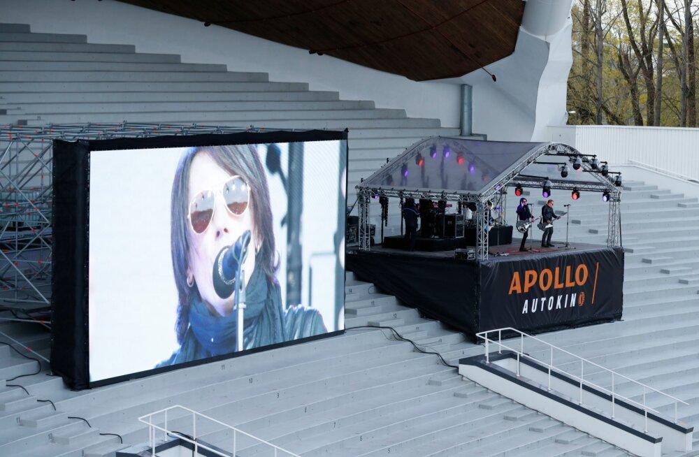 FOTOD | Smilers andis lauluväljakul sadadele autodele ägeda kontserdi! Vaata, kuidas see välja nägi