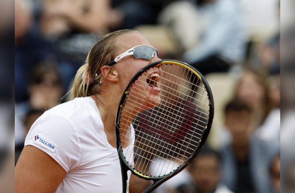 Kanepi pääses Wimbledoni valikturniiril edasi
