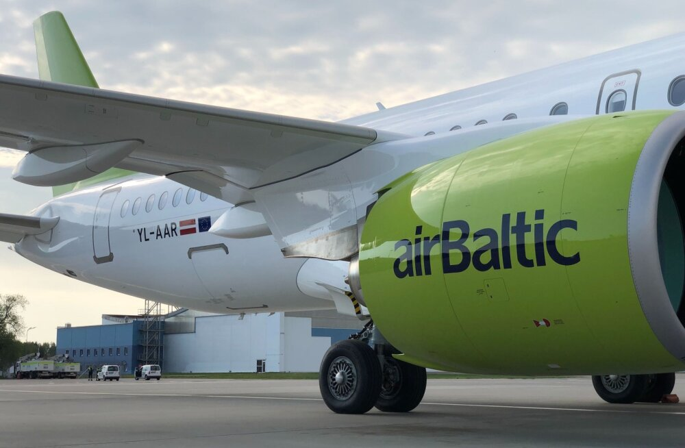 Еще больше удобств для пассажиров: airBaltic получила восемнадцатый самолет Airbus A220-300