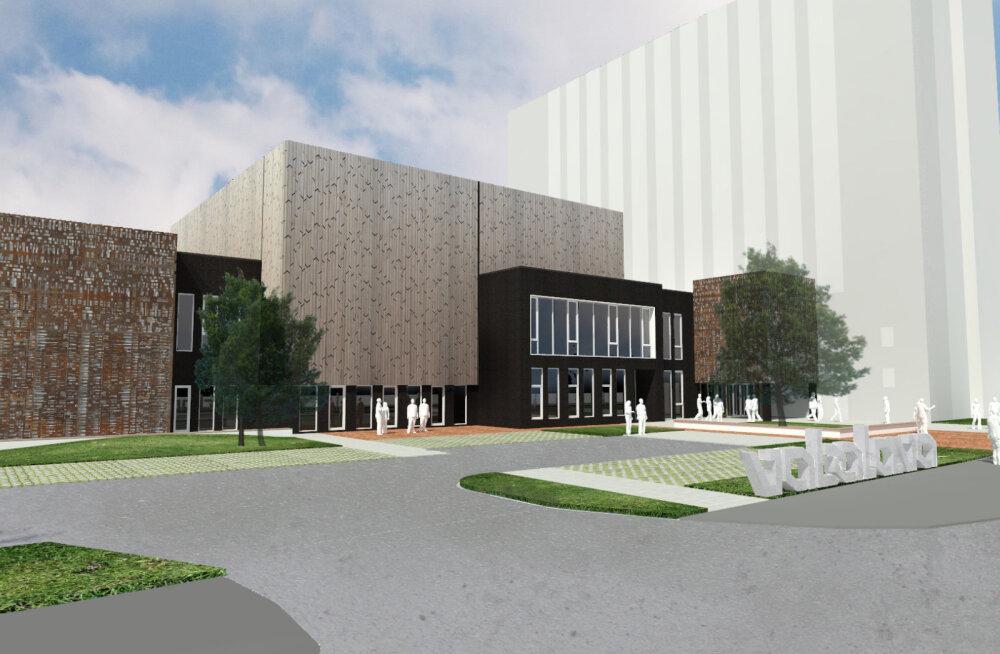 Уроженец Нарвы рисковал, покупая огромную недвижимость, но нарвский центр Vaba Lava уже строится