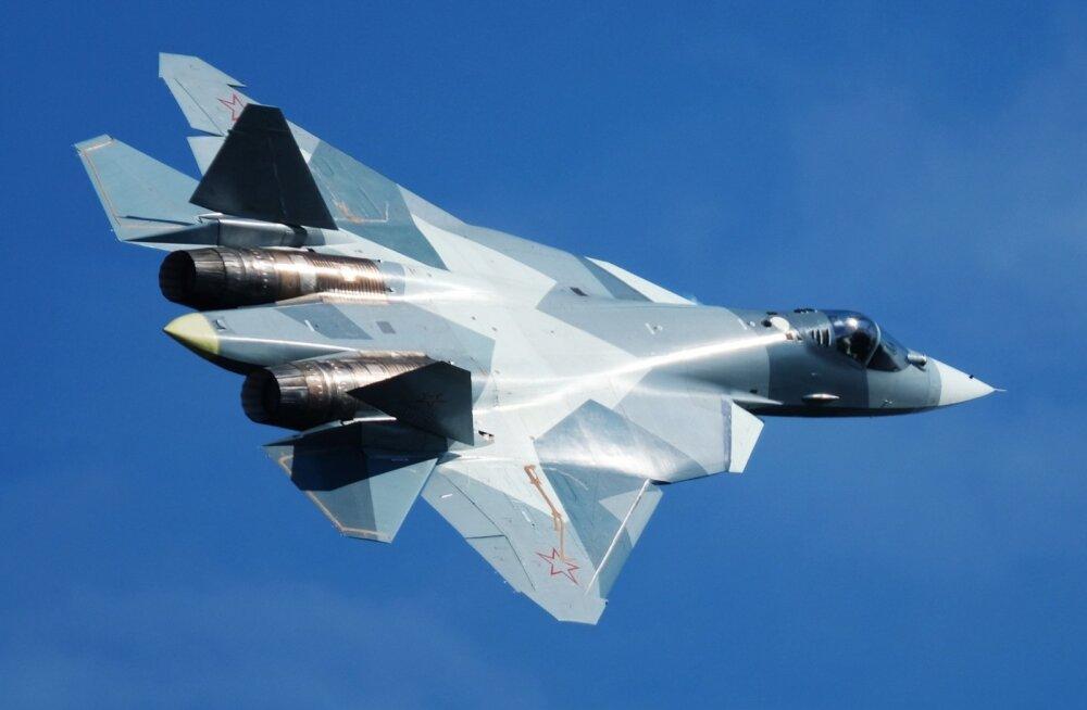 VIDEO | Süürias märgati Venemaa uue põlvkonna hävitajat Su-57