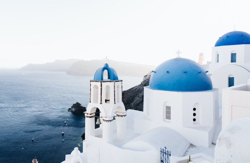 Puhkus sini-valges paradiisis! Edasi-tagasi Tallinnast Santorinile 159 euroga