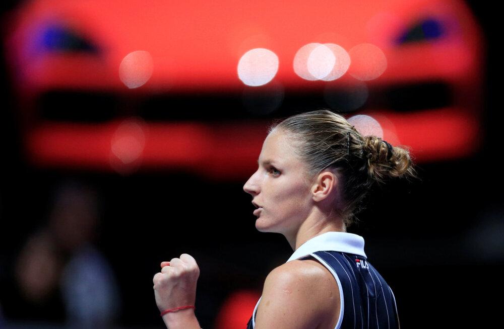 TÄISPIKKUSES | WTA aastalõputurniiril said selgeks kõik poolfinalistid, Svitolina jätkas võimsalt, Halep langes konkurentsist