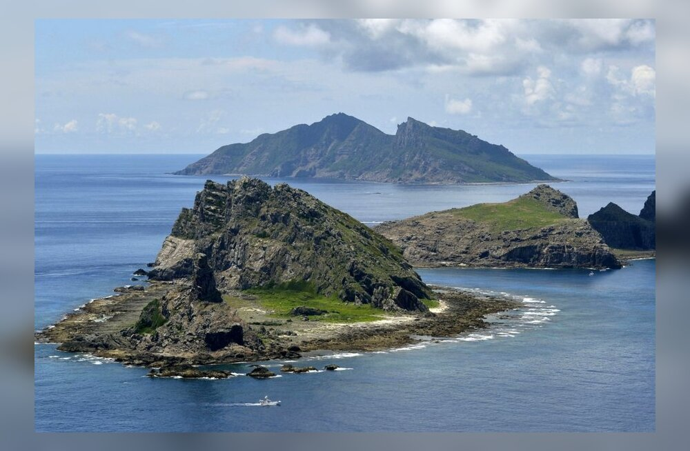 Jaapan kutsus saartetüli tõttu välja Hiina suursaadiku