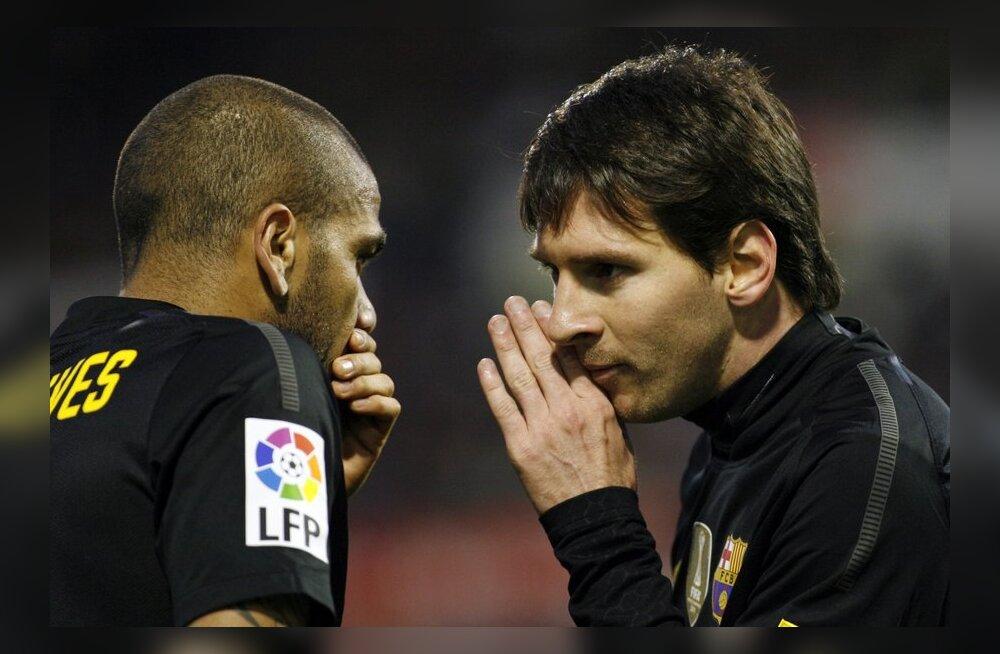 Lionel Messi ja Dani Alves