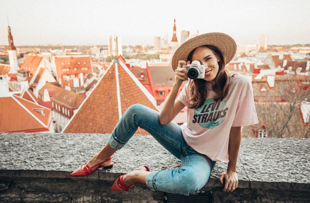 Tuntud kaamerabrändiga koostöö skoorinud Eesti moeblogija Kristjaana Mere: mulle meeldiks väga teha koostööd ka suurte Pariisi moemajade ja rahvusvaheliste luksushotellikettidega