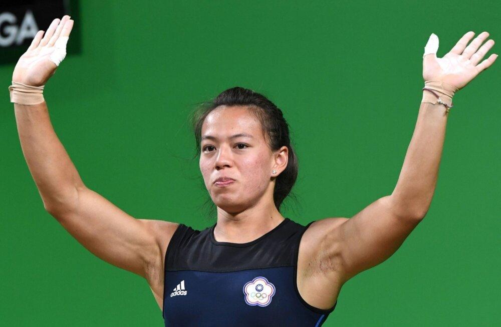 Universiaadil maailmarekordiga võidutsenud Kuo Hsing-chun