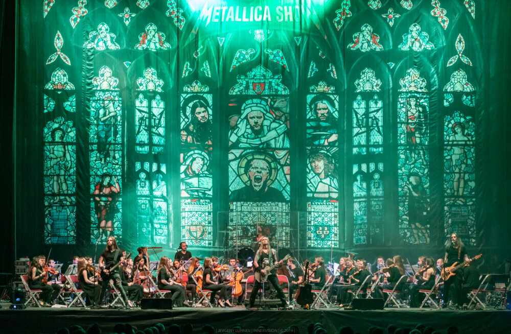 Уже сегодня! Metallica S&M Tribute Show с симфоническим оркестром впервые в Эстонии!