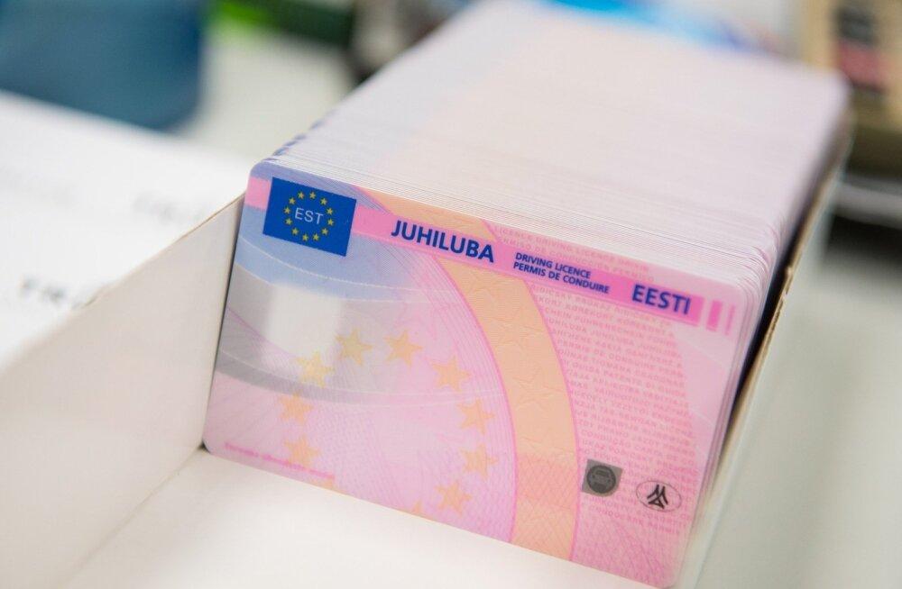 ÜK luba tuleb vahetada Eesti loa vastu.