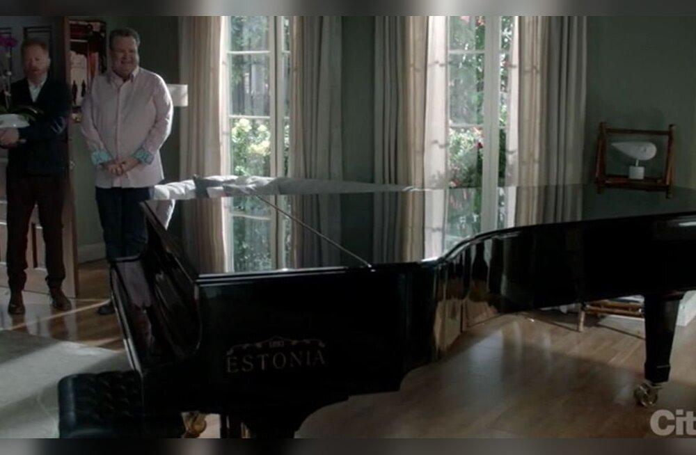 USA ülipopulaarses komöödiasarjas sai palju tähelepanu Estonia klaver