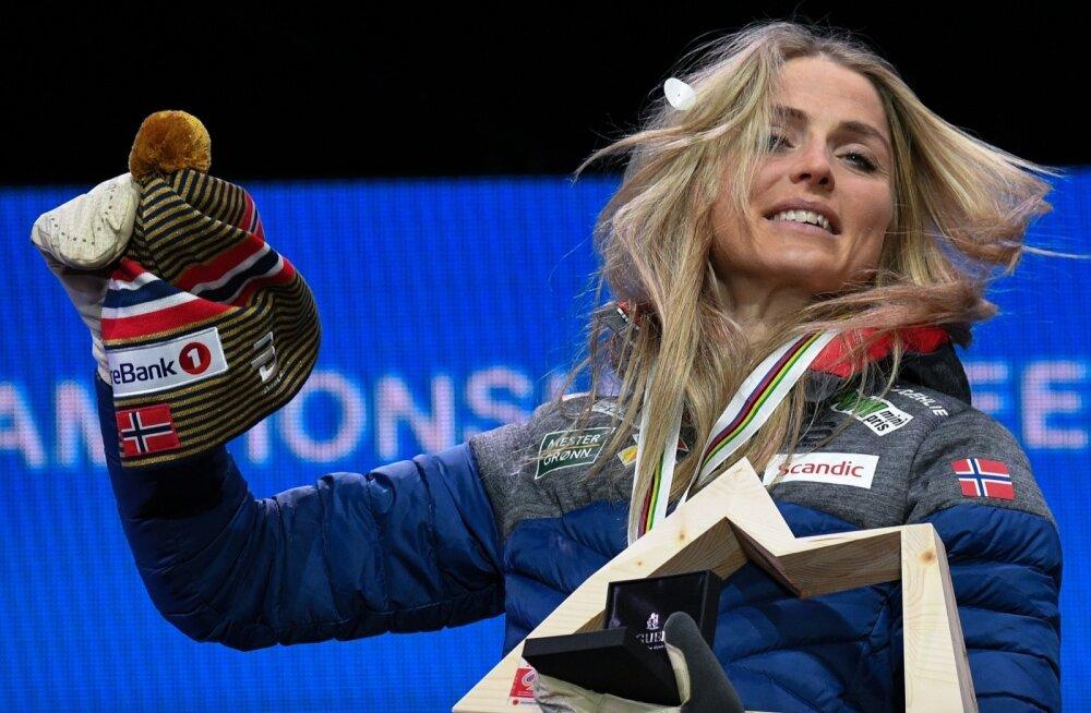 Seefeldis juba ühe kuldmedali võitnud Therese Johaug.