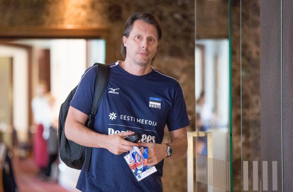 Gheorghe Creţu loodab võrkpallikoondise veel paremate tulemusteni aidata.