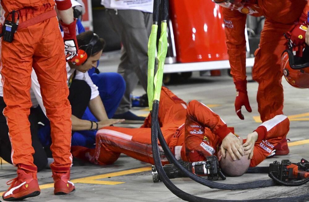 KOMMENTAAR | Kas rullnokk Räikkönen ajas mehaaniku alla?