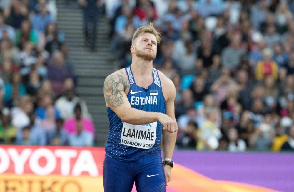 London 2017, Tanel Laanmäe võistlus