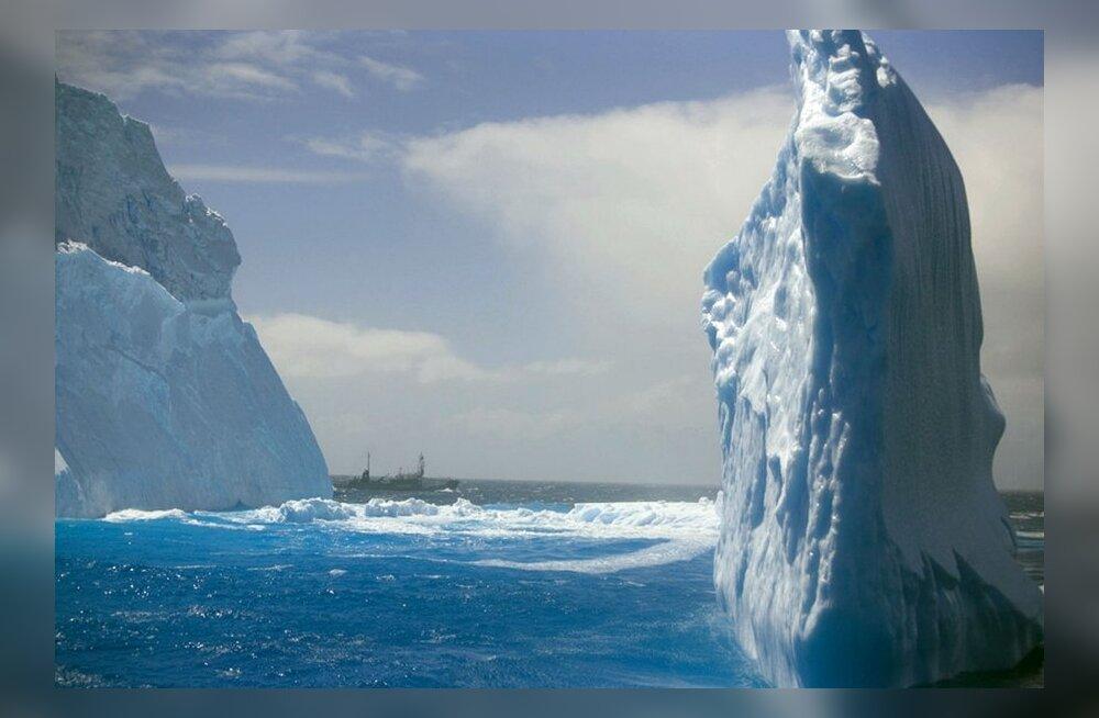 jäämäed Antarktika rannikul