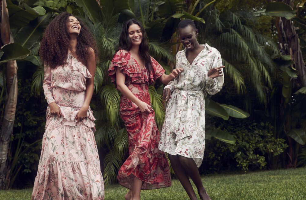 ФОТО   Танцы босиком: H&M представляет яркую летнюю коллаборацию с дизайнером из Колумбии