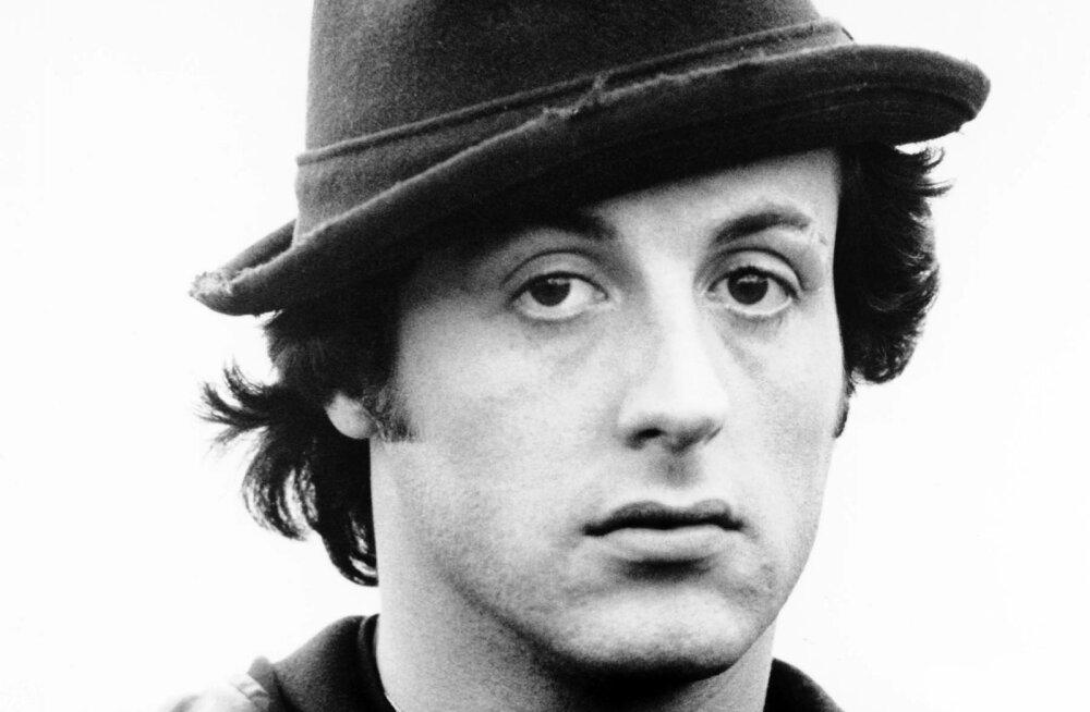 PLAKAT | Sylvester Stallone näitab esmakordselt kõige esimest käsitsi joonistatud ROCKY filmiplakatit