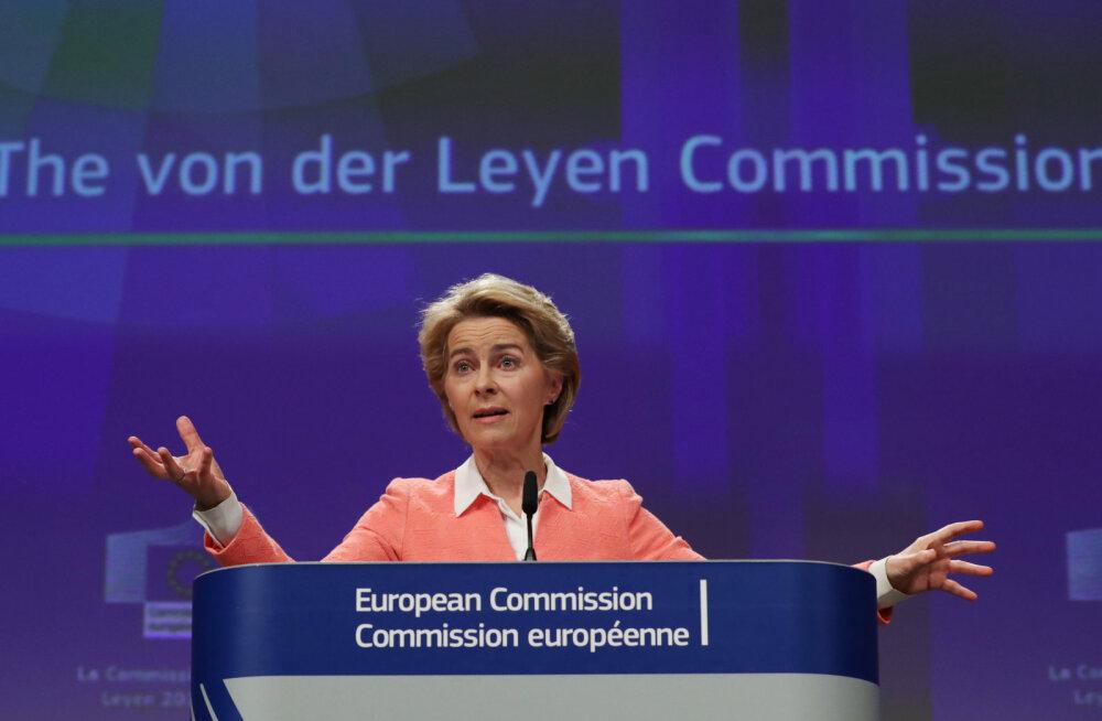 President Ursula von der Leyen tutvustas uue Euroopa Komisjoni portfellide jaotust
